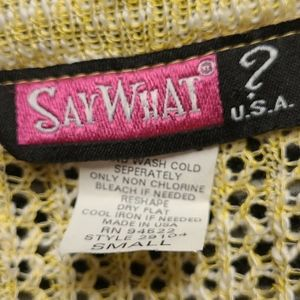 Say What? Shirts & Tops - SayWhat? USA Cropped Cardigan size small